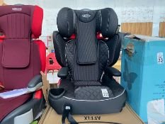 IMMACULATE GRACO AFFIX CHILDS CAR SEAT WITH BOX