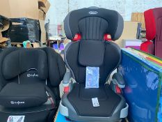 IMMACULATE GRACO JUNIOR MAXI CAR SEAT WITH BOX