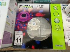 BOXED FLOW CLEAR FLOATING POOL LIGHT