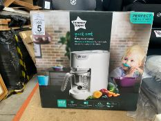 BOXED TOMMEE TIPPEE QUICK COOK FOOD MAKER