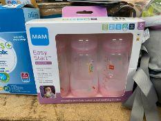 MAM EASY START ANTI COLIC BOXED BOTTLES