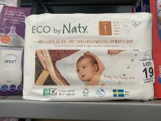 ECO BY NATY PACK OF NAPPIES