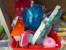 TUB OF CLEAN TOYS