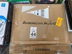AMERICAN AUDIO BOXED BRACKETS