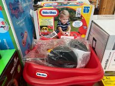 LITTLE TIKES TRAILER WITH BOX NEW