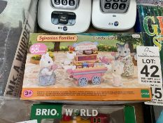 SYLVANIAN FAMILIES BOXED CANDY CART