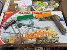 BOXED MEHANO CARGO TRAIN