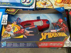 NERF SPIDERMAN TOY