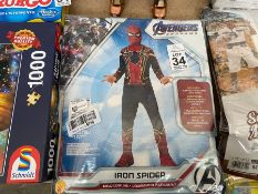 MARVEL AVENGERS IRON SPIDER CHILDS COSTUME