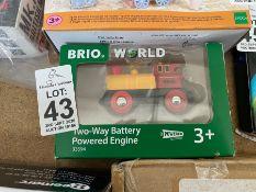 BRIO WORLD 2 WAY BATTERY POWERED ENGINE
