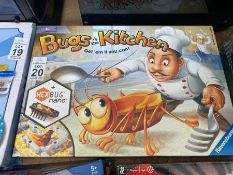 RAVENSBURGER BUGS IN THE KITCHEN BOXED GAME