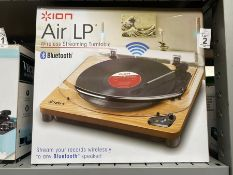 ION AIR LP WIRELESS STREAMING TURNTABLE (WORKING)