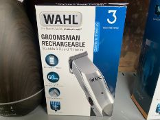 WAHL GROOMSMAN RECHARGEABLE STUBBLE & BEARD TRIMMER (WORKING)