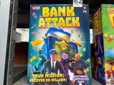 IDEAL BANK ATTACK ELECTRONIC COOPERATIVE GAME