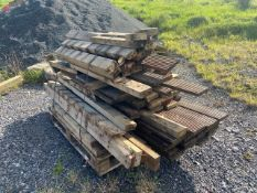PALLET OF ASSORTED TIMBER