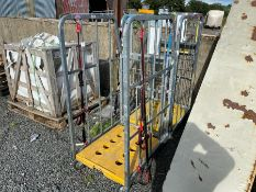 GALVANISED STEEL TROLLEY