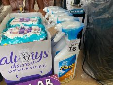 5 SPRAY BOTTLES OF FLASH CLEANER