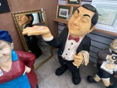 LARGE BUTLER FIGURE 3FT TALL
