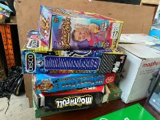 LOT OF GOOD BOXED TOYS (AND KARAOKE MICROPHONE)
