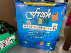 5KG BOX OF WASHING POWDER