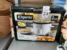 ELGENTO RICE COOKER (WORKING)
