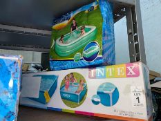 2 INTEX PADDLING POOLS