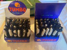 2 X BOXES OF 24 JUMBO PENS