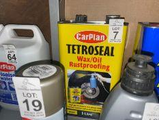 5L CARPLAN TETROSEAL WAX/OIL RUSTPROOFING