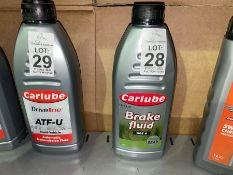 CARLUBE BRAKE FLUID (DOT 4)