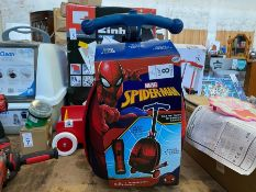MARVEL SPIDERMAN CABIN SIZE KIDS TROLLEY CASE