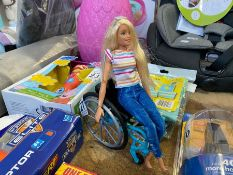 BARBIE TYPE TOY IN WHEELCHAIR