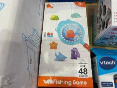 KIDS BATHROOM FISHING GAME