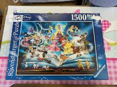 DISNEY RAVENSBURGER 1500 PIECE PUZZLE