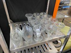 18X GLASS DESSERT DISHES