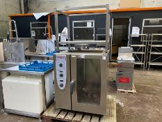 RATIONAL COMBIMASTER GAS G20 COMMERCIAL OVEN & STAND