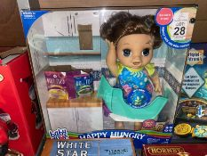 BABY ALIVE HAPPY HUNGRY DOLL