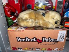 PERFECT PETS BREATHING TOY DOG