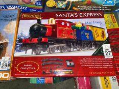 HORNBY SANTA'S EXPRESS TRAIN SET