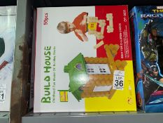 BUILD HOUSE WOODEN TOY