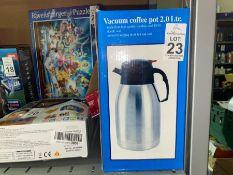 EX DISPLAY 2L VACUUM COFFEE POT