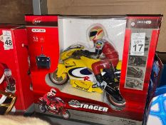 MOTOR TRACER REMOTE CONTROL MOTORBIKE (NEW)