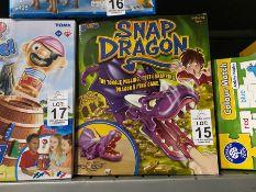 SNAP DRAGON GAME