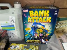 BANK ATTACK ELECTRONIC COOPERATIVE GAME