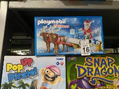 PLAYMOBIL CHRISTMAS SLEIGH TOY