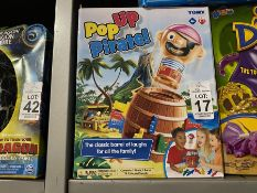 TOMY POP UP PIRATE TOY