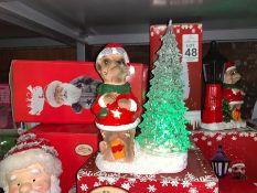 MEERKAT LIGHT UP CHRISTMAS ORNAMENT (NEW)