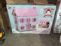 LE TOY VAN SOPHIES HOUSE DOLLS HOUSE