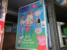 PEPPA PIG 3 IN 1 MAGNETIC ACTIVITY EASEL