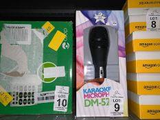 SING TO THE WORLD KARAOKE MICROPHONE