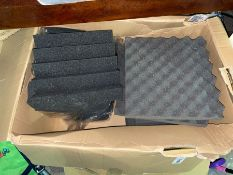 BOX OF SOUND PROOFING SHEETS